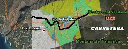 LA PALMA: LA CARRETERA AL PASO- LOS LLANOS A BRUSELAS